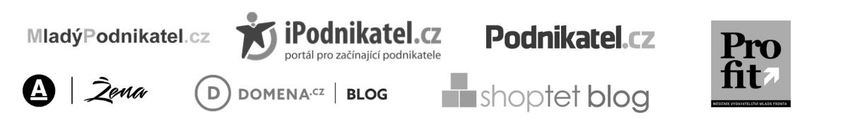 loga médií